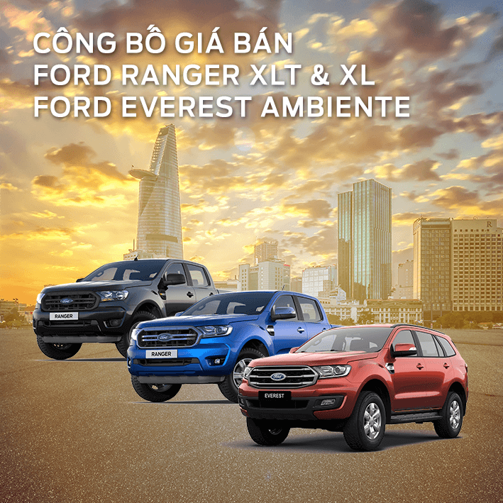 Ford Everest Ambient, Ranger XLT & XL